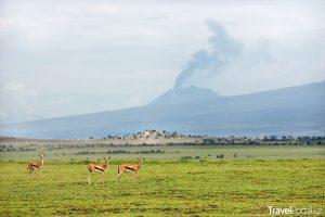 Ol Doinyo Lengai v Tanzanii