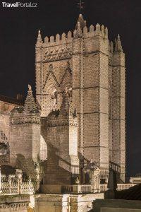 katedrála ve městě Ávila