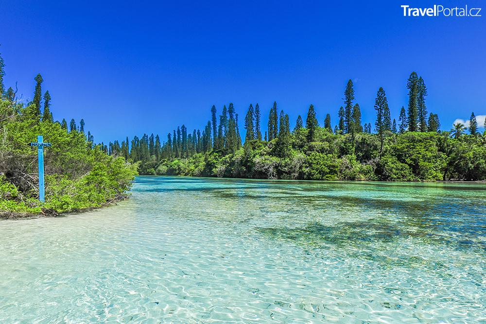 Île des Pins v souostroví Nová Kaledonie