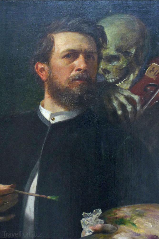 Böcklinův autoportrét se smrtí