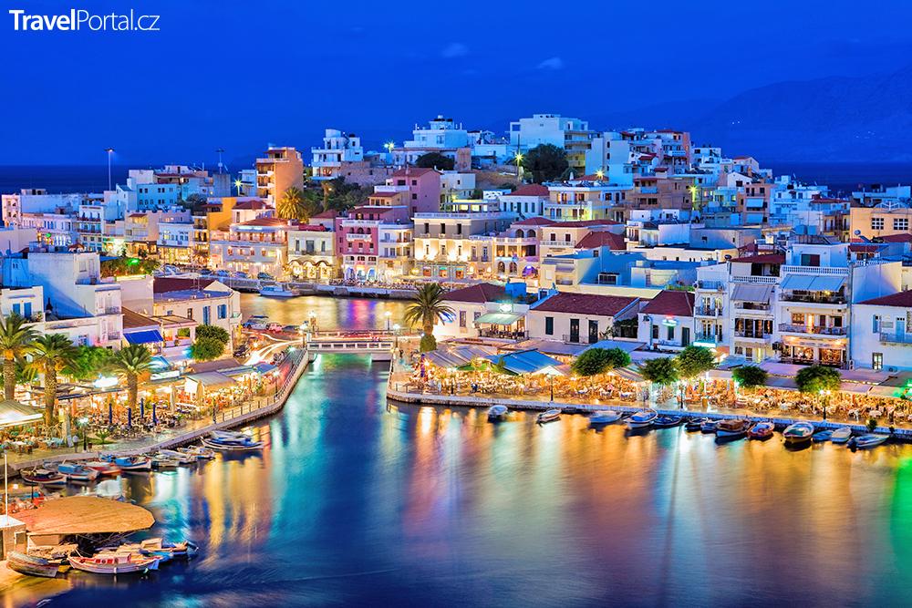 Kréta zaujme i městem Agios Nikolaos