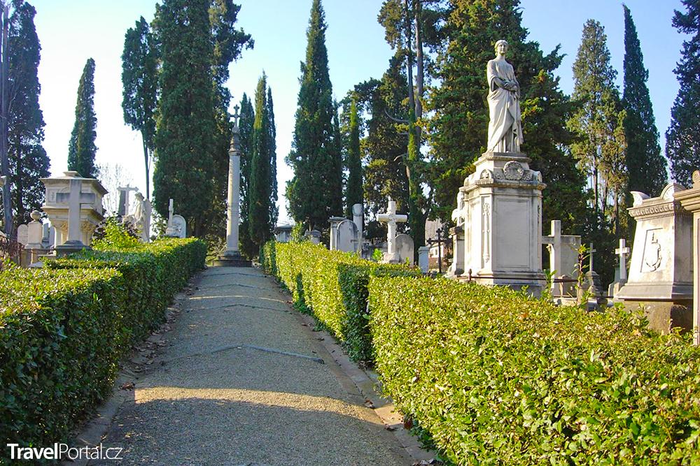 anglický hřbitov ve Florencii