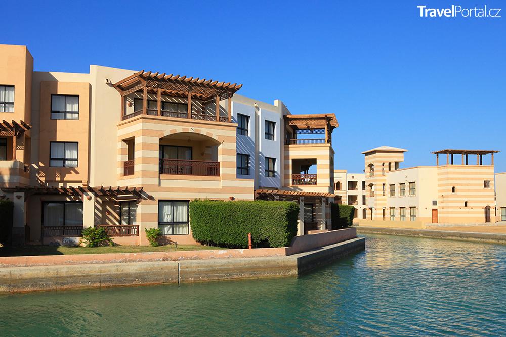 hotel v letovisku Port Ghalib