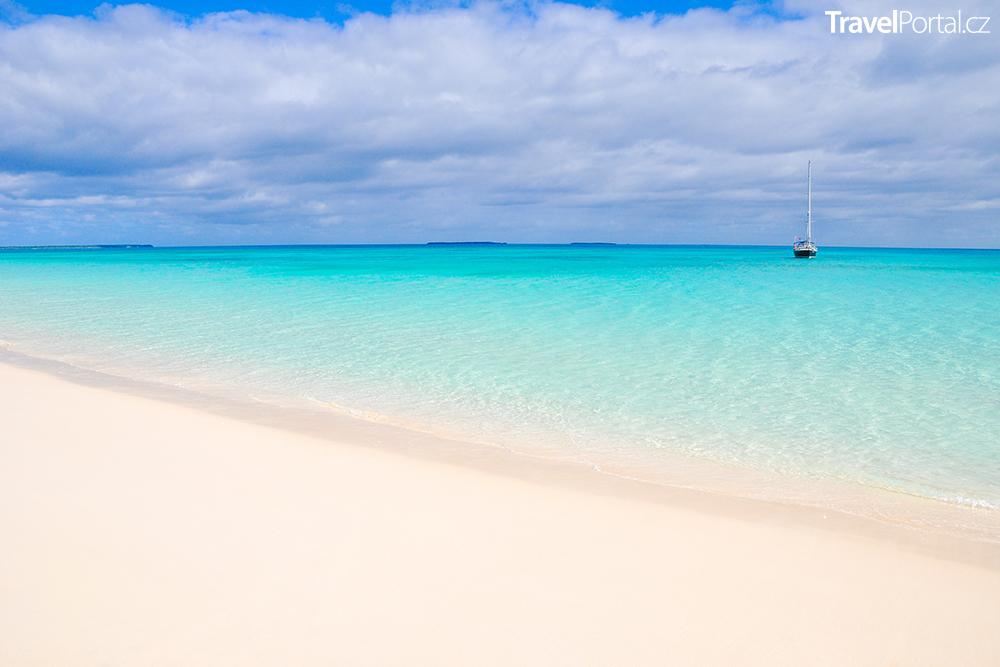 laguna na ostrově Ouvéa