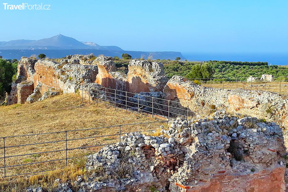 římská cisterna Aptera