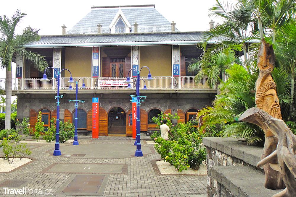 modrý mauritius je k vidění i v tomto muzeu