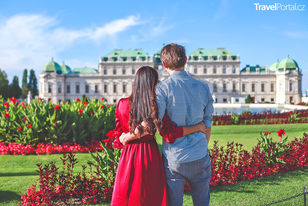 palácový komplex Belveder ve Vídni