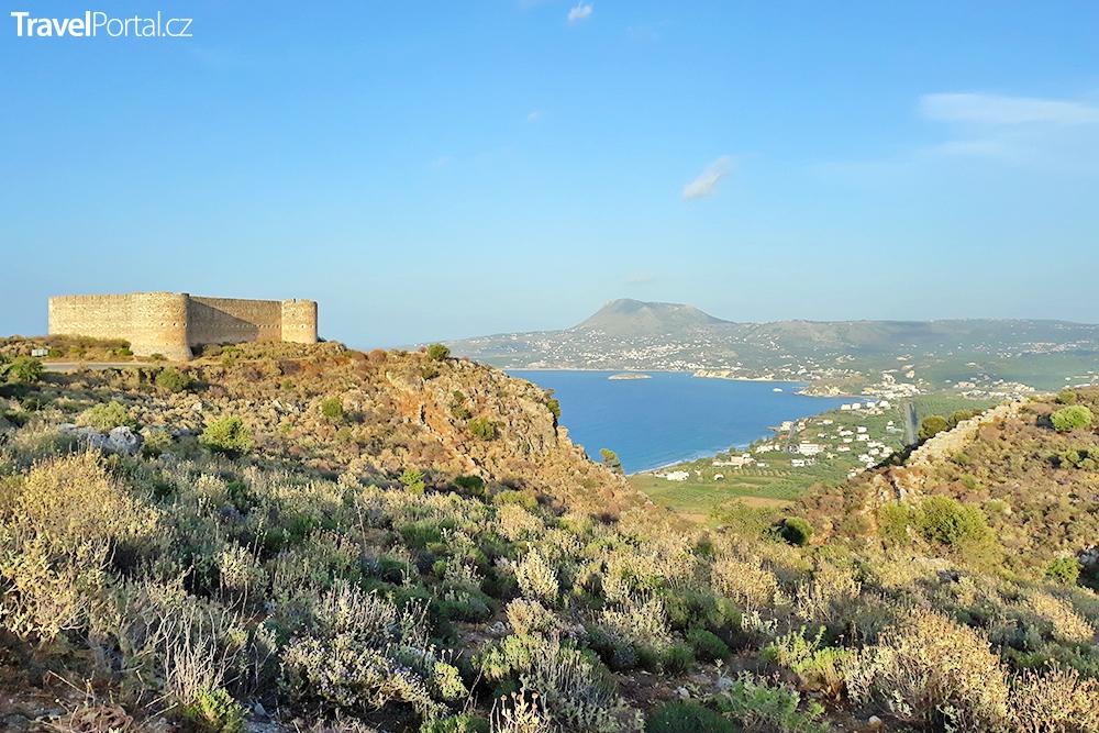 pevnost Koules a její okolí