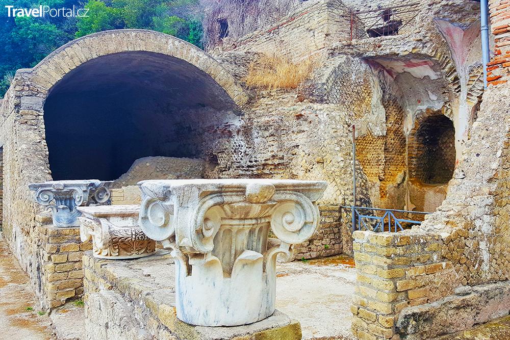 ruiny města Baia