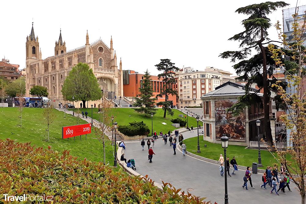 Prado, kostel a klášter sv. Jeronýma