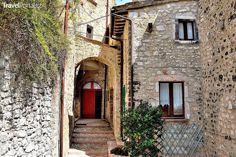 Vallo di Nera v Itálii