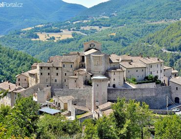 Vallo di Nera v regionu Umbrie