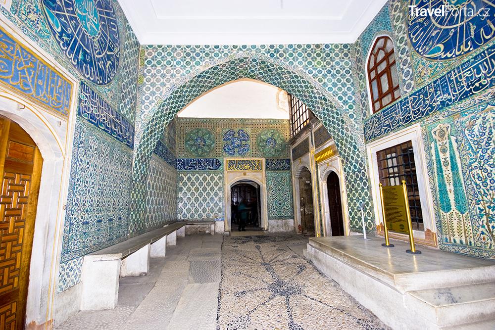 harém v paláci Topkapi