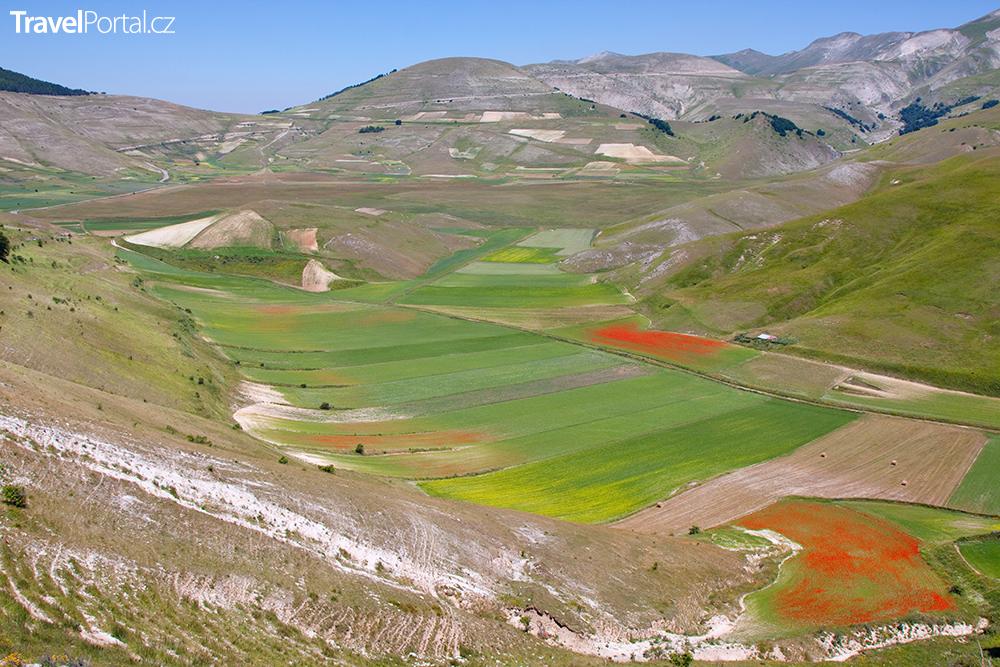 národní park Monti Sibillini