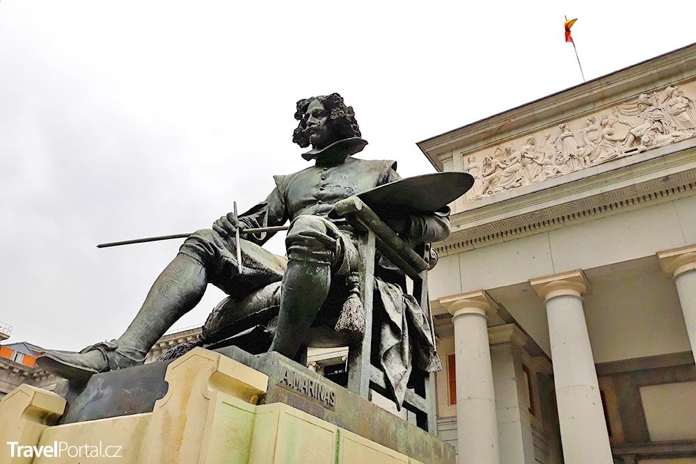 socha Velázqueze