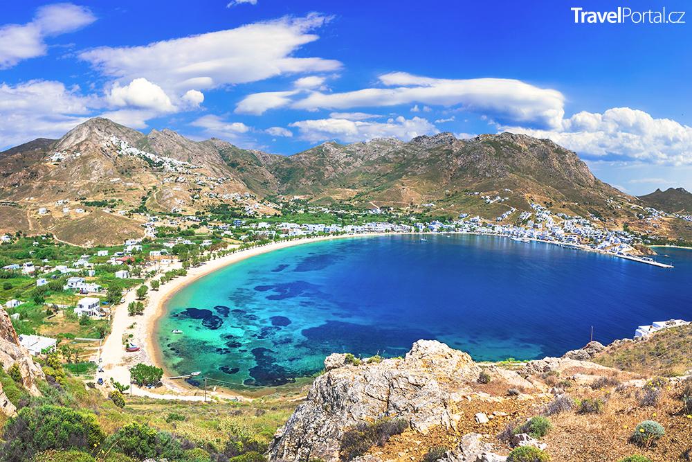 řecký ostrov Serifos