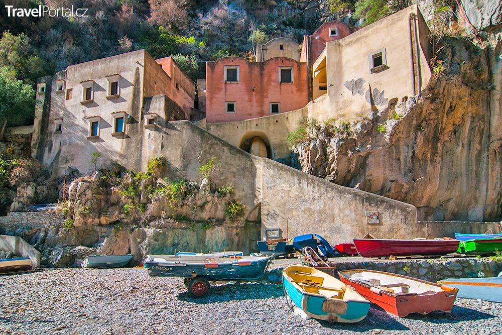 Fiordo di Furore v Itálii