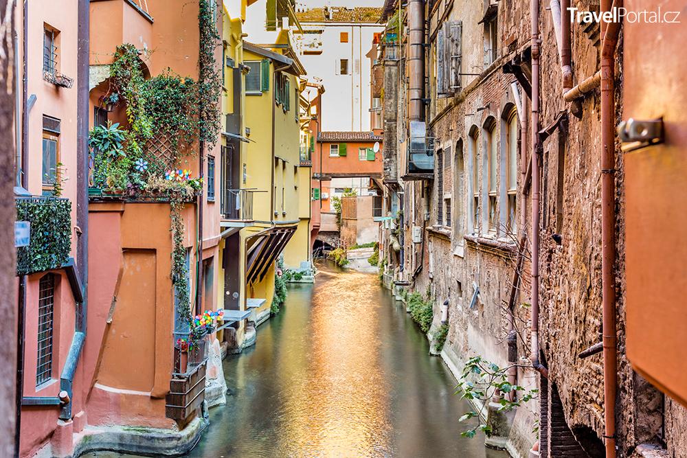 La Piccola Venezia ve městě Bologna