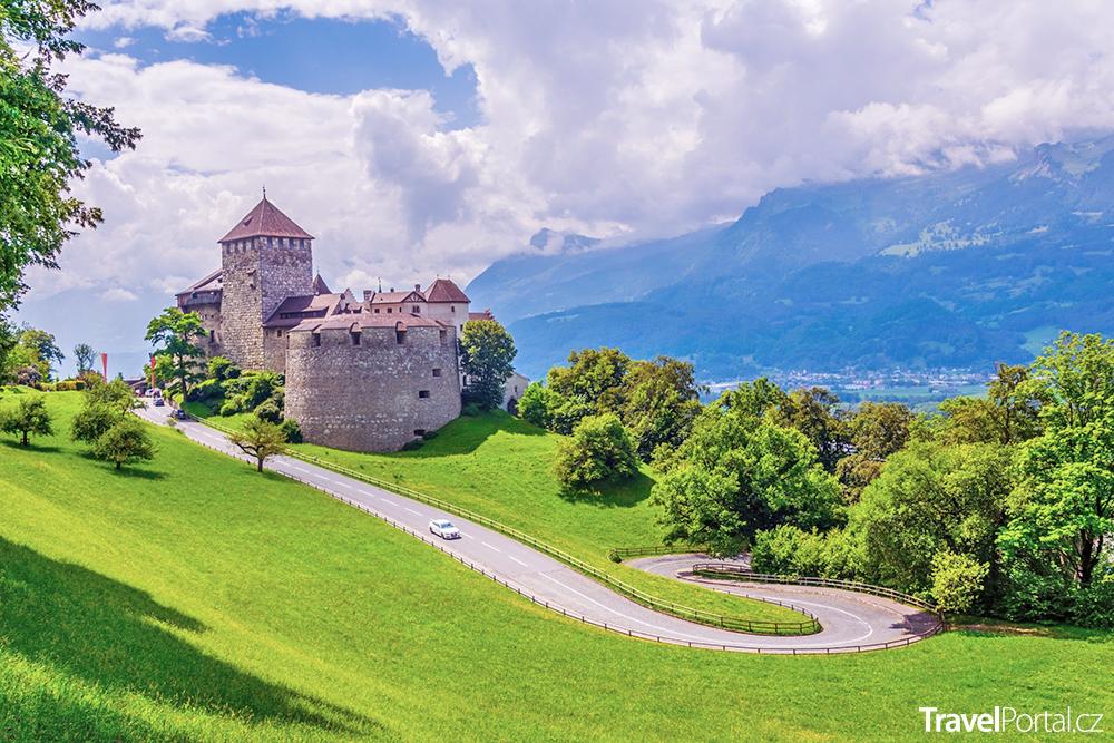 hrad Gutenberg v Lichtenštejnsku