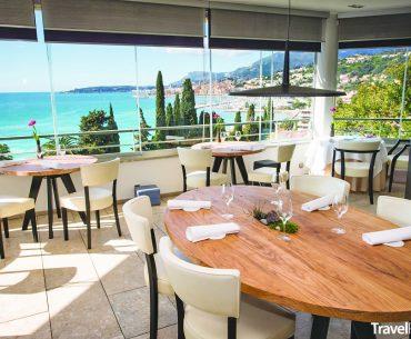 restaurace Mirazur ve francouzském Mentonu