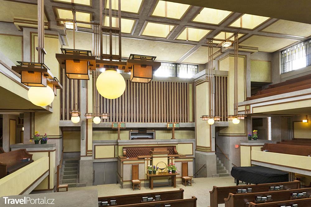 Frank Lloyd Wright - kostel Unity