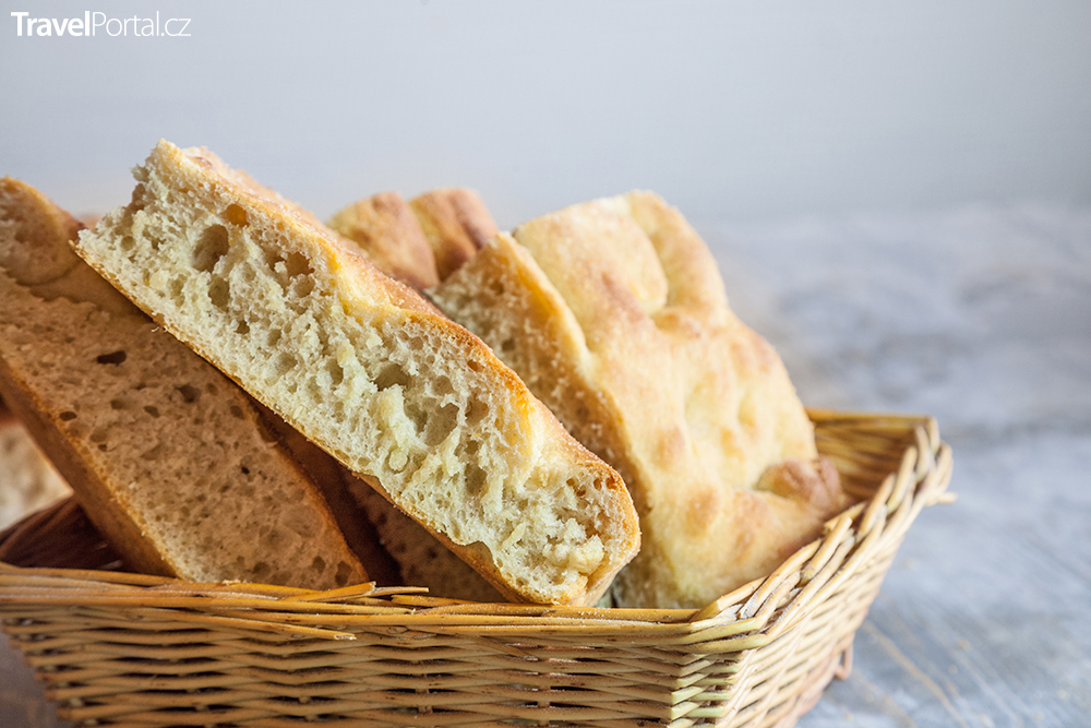 chléb Focaccia