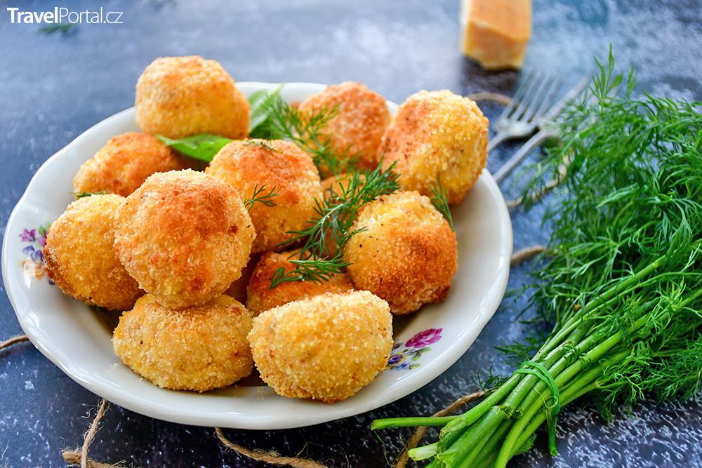 italské jídlo arancini