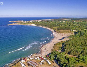 pláž u vesnice Achtopol