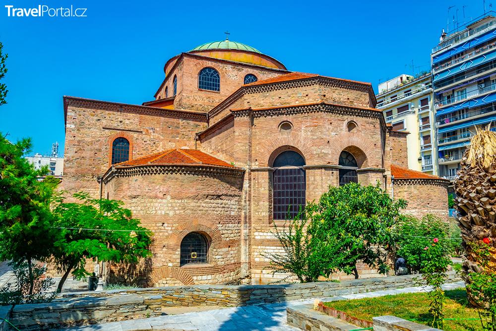 Hagia Sophia ve městě Soluň