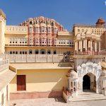 Hawa Mahal ve městě Jaipur neboli Džajpur