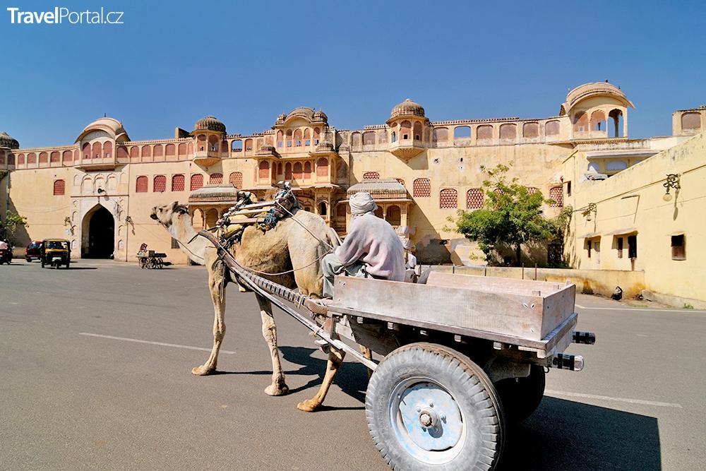 indické město Jaipur