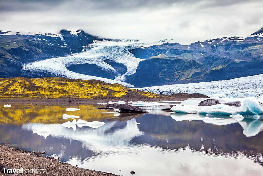 islandský národní park Vatnajökull