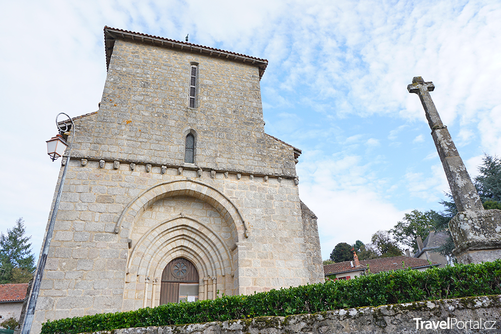 katolický kostel v Limoges