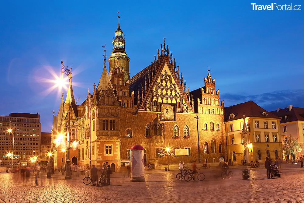 radnice ve městě Wrocław