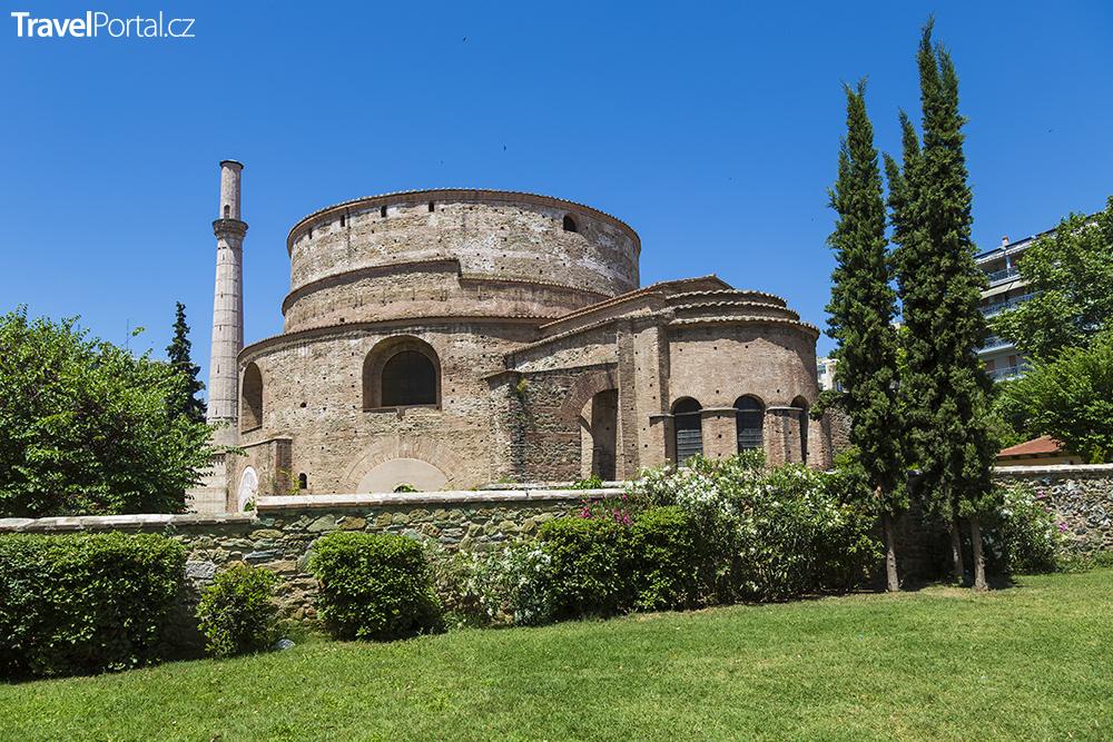 rotunda ve městě Soluň