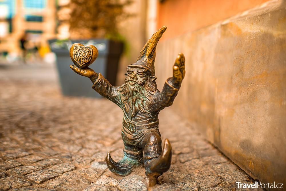 socha trpaslíka