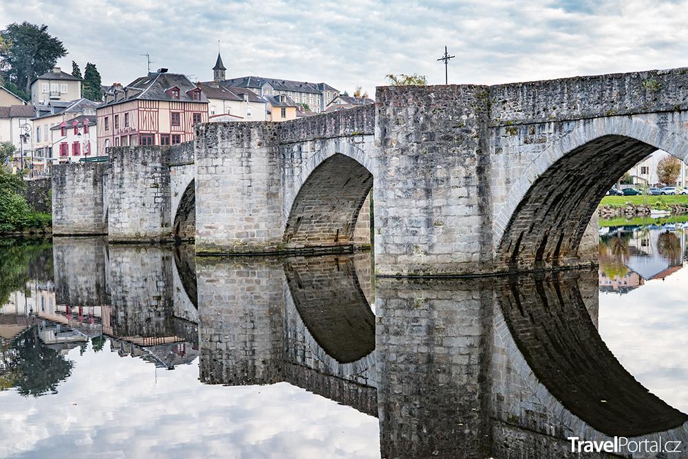 středověký most v Limoges