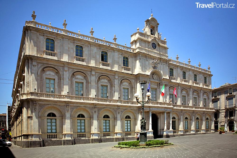 univerzita ve městě Catania