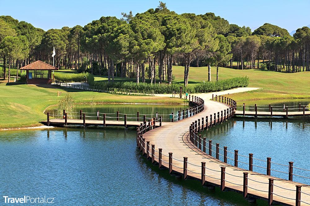 Sueno Golf Club v tureckém Beleku