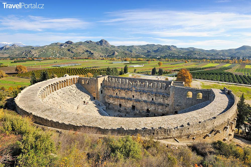 amfiteátr v Aspendosu