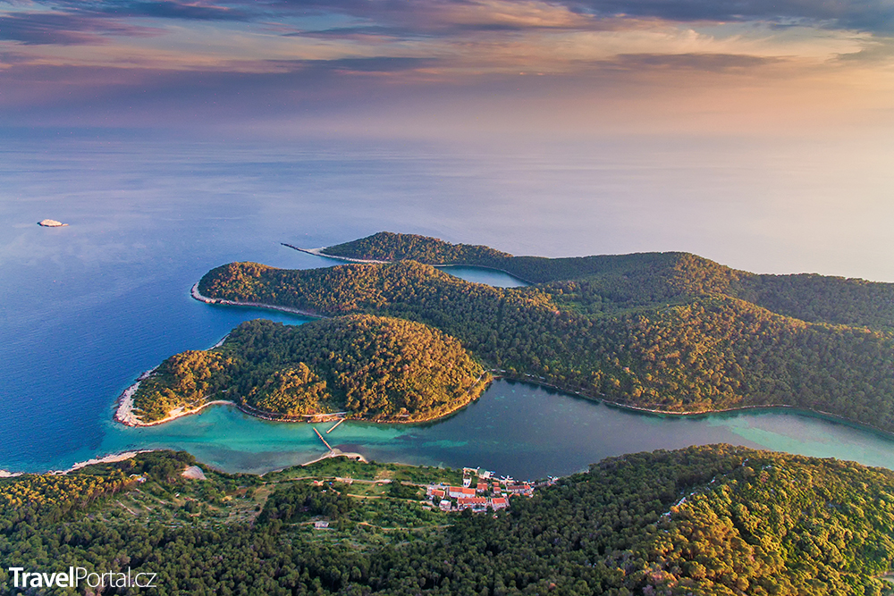 chorvatský ostrov Mljet