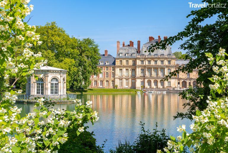 francouzský palác Fontainebleau