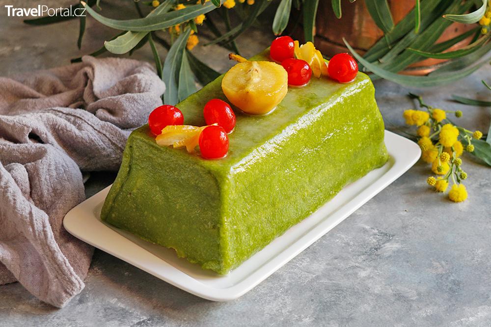 italský dort cassata siciliana