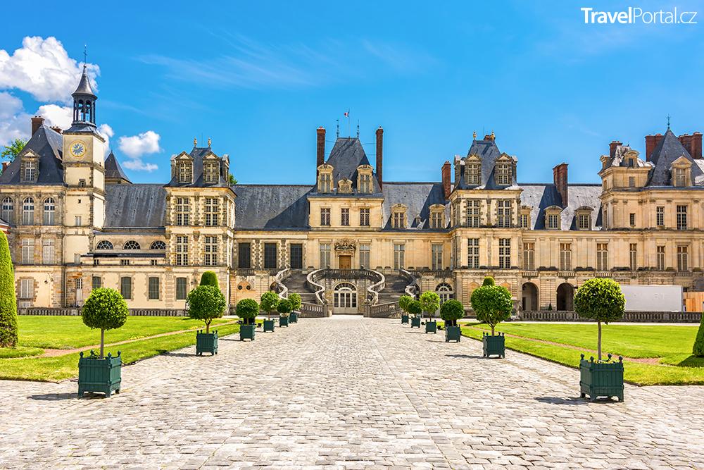 palác ve Fontainebleau