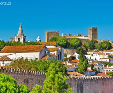 portugalské město Óbidos
