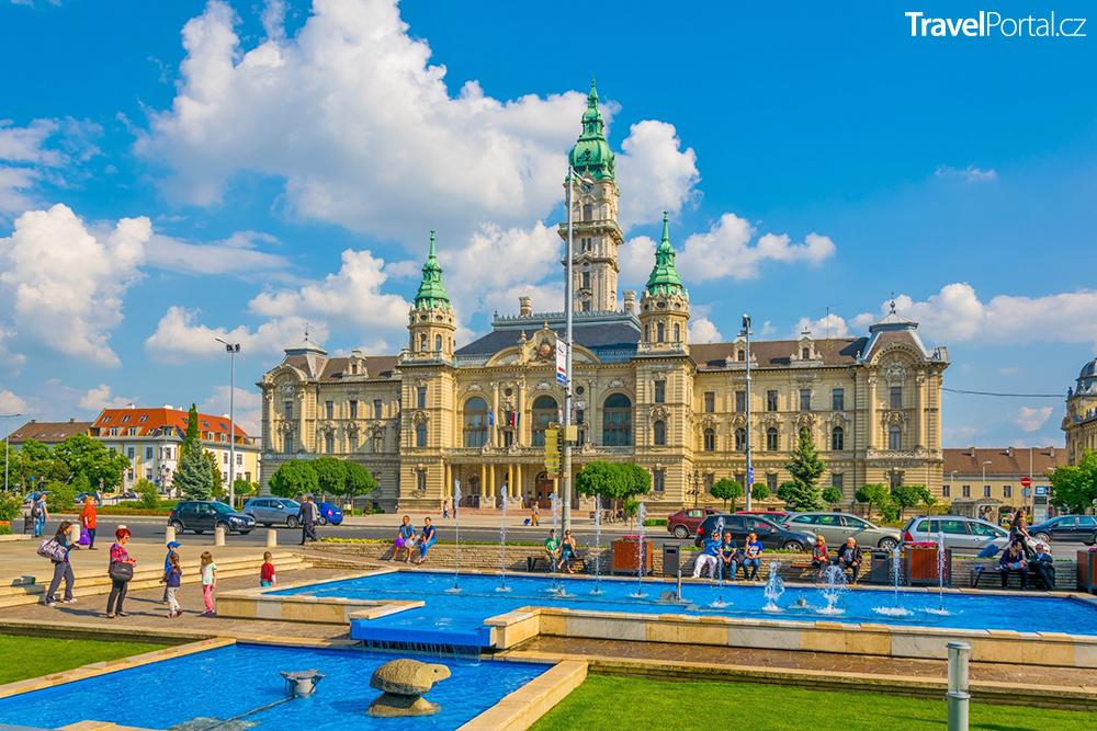 radnice v maďarském městě Győr