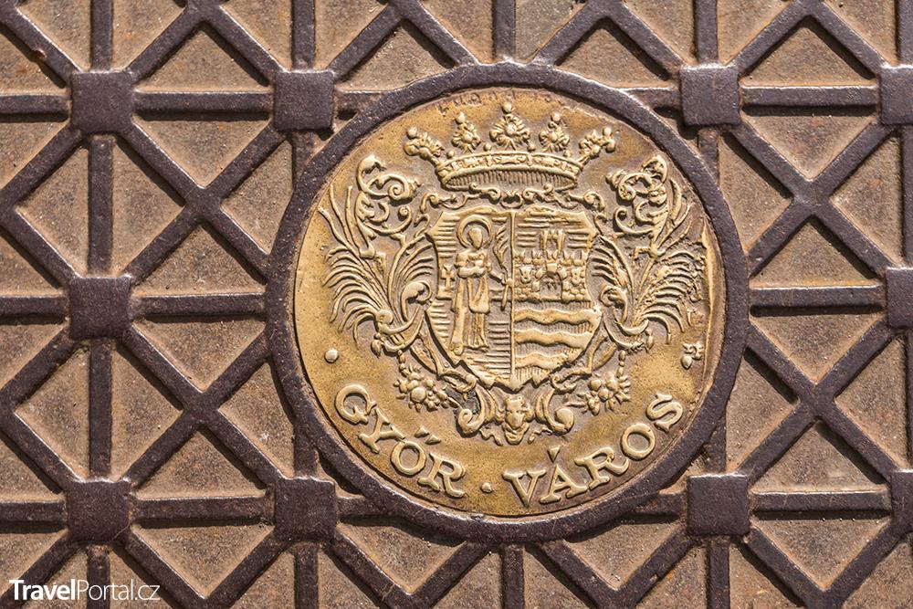 znak města Győr