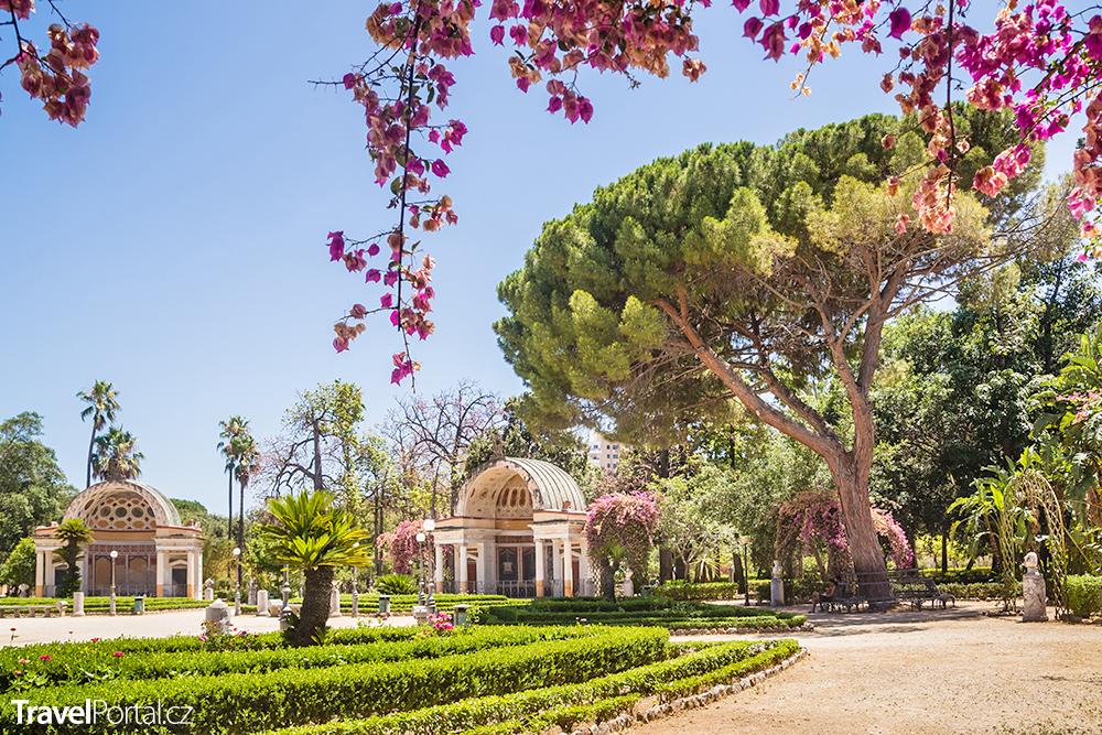Orto Botanico ve městě Palermo