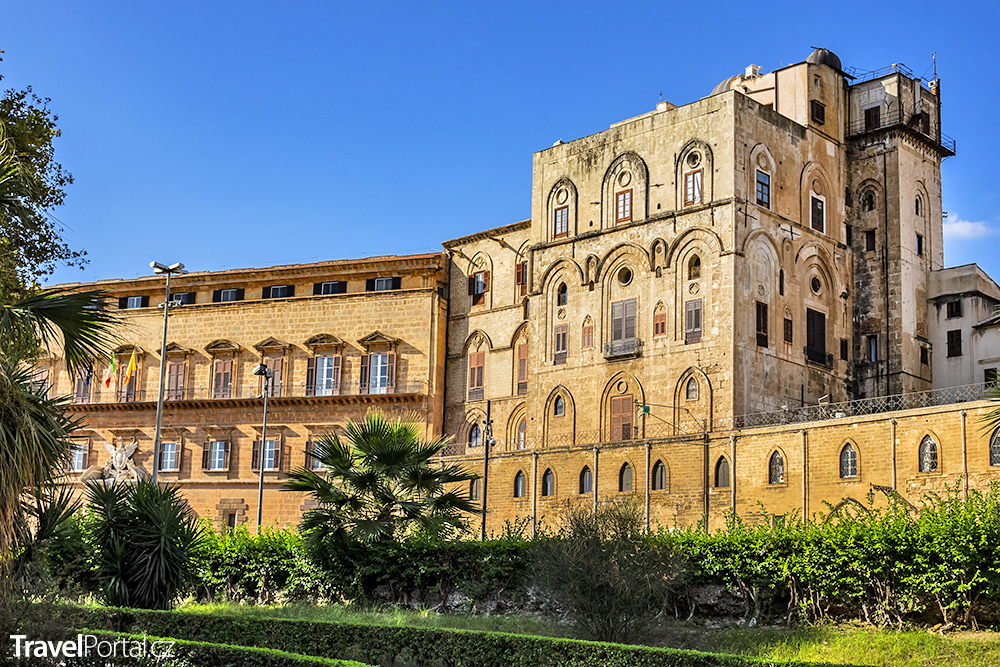 Palazzo dei Normanni ve městě Palermo