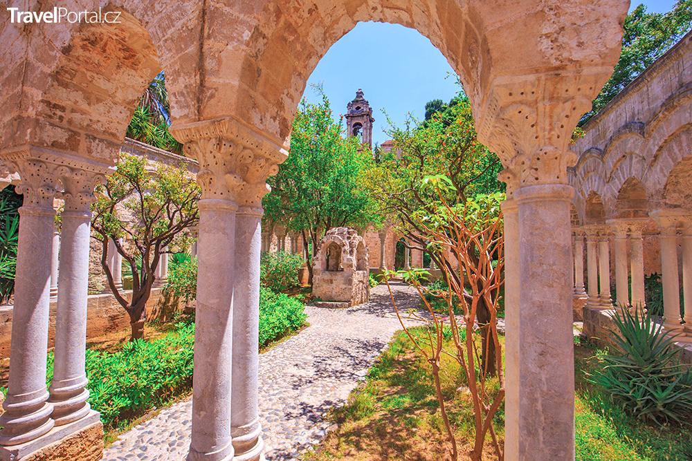 klášter sv. Jana ve městě Palermo